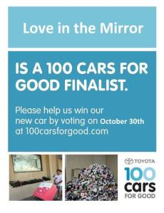 Toyota 100 Cars For Good Love in the Mirror