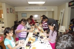 Dr. V and his staff from Lakewood Orthodontics and their families helped Love in the Mirror make 1,100 peanut butter and jelly sandwiches in December of 2012.
