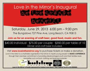 Love in the Mirror's Inaugural Be The Change Benefit