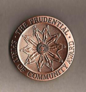 prudential spirit award