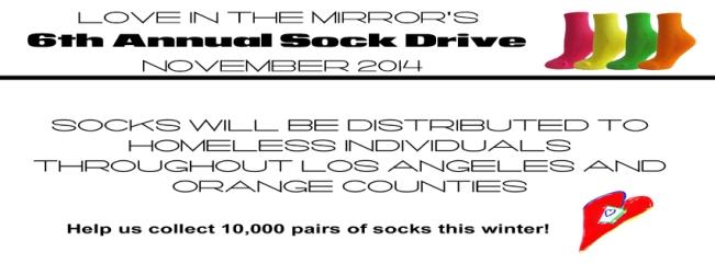 6th Annual Sock Drive November 2014