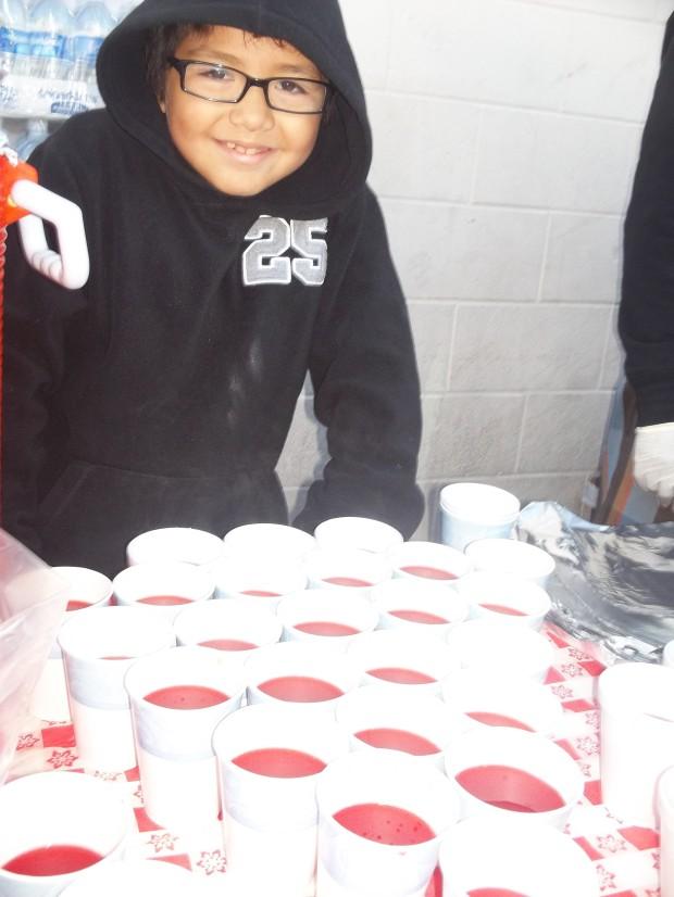 Jonas age 8 Skid Row