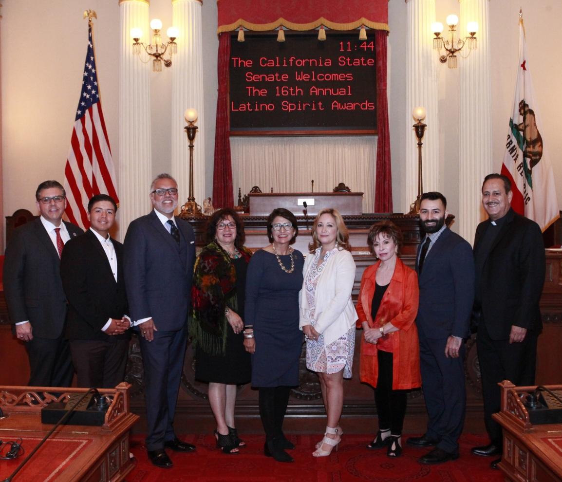 2017 Latino Spirit Award and CA SenateRecognition