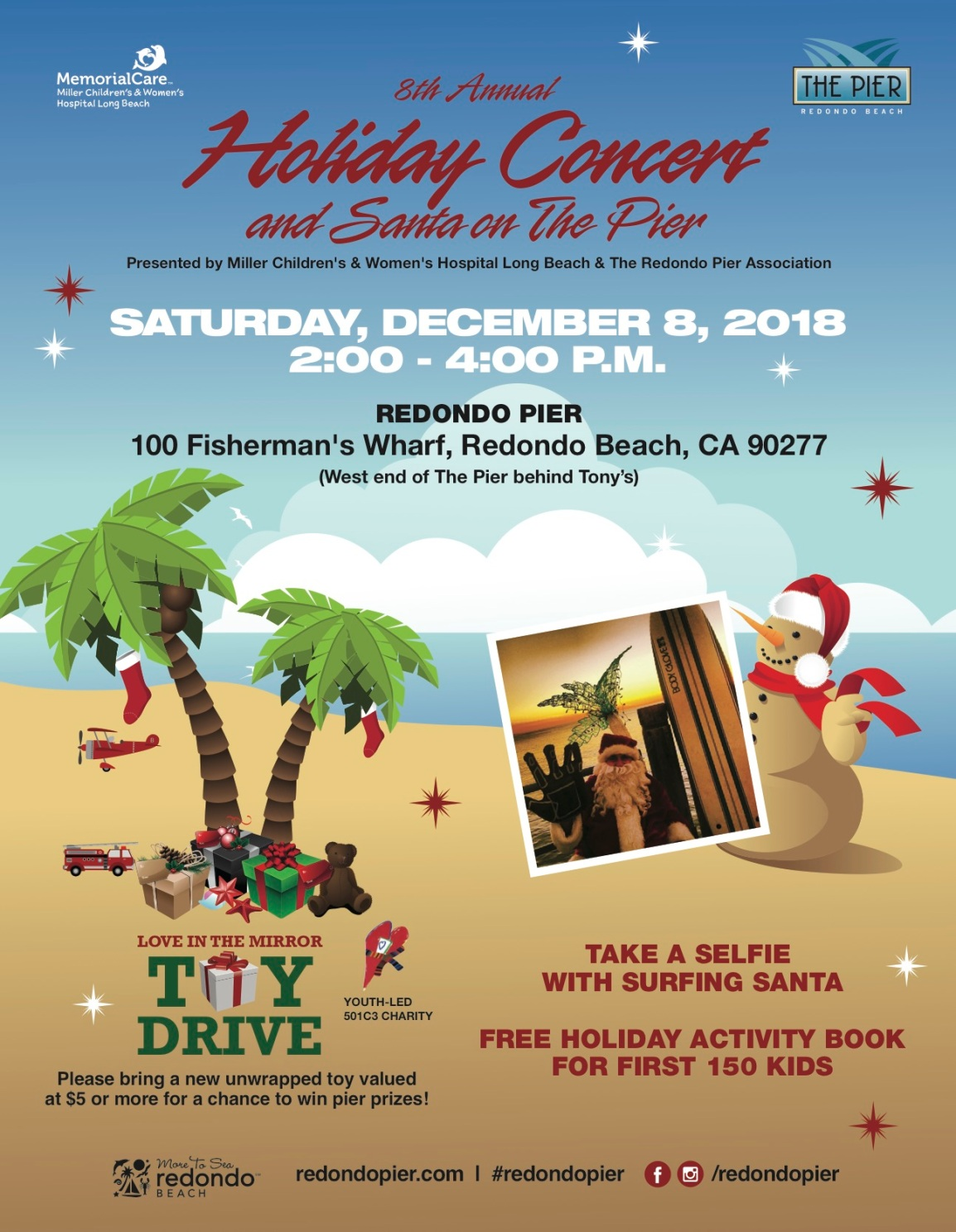 Holiday Concert and Santa on the Redondo Pier